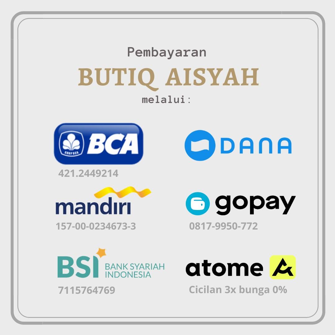 Pembayaran Butiq Aisyah